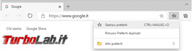 Come salvare riutilizzare preferiti Firefox, Chrome, Opera, Edge Internet Explorer
