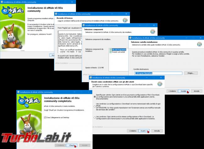 Come scaricare eMule 2020: Guida Definitiva (download configurazione, nuova versione) - installazione emule