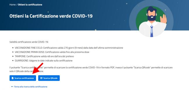 Come scaricare Green Pass sito Governo authcode inviato via SMS tessera sanitaria (GUIDA) - FrShot_1624362998_