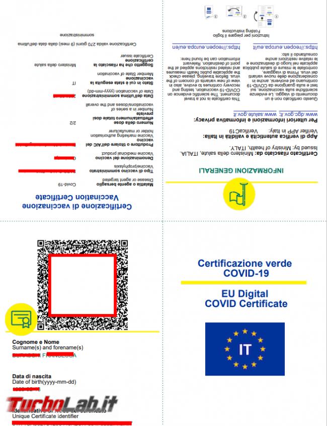 Come scaricare Green Pass sito Governo authcode inviato via SMS tessera sanitaria (GUIDA) - FrShot_1624363124