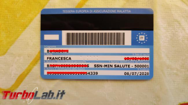 Come scaricare Green Pass sito Governo authcode inviato via SMS tessera sanitaria (GUIDA) - IMG_20210622_132728