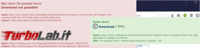 Come scaricare video Rai, Mediaset, Youtube tanti altri siti senza software aggiuntivi