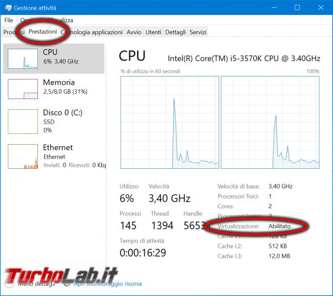 Come scoprire se CPU è dotata SLAT supporto hardware virtualizzazione - abilitare Intel VT-x AMD-V BIOS/UEFI (Hyper-V, VirtualBox, VMware) - zShotVM_1621175749