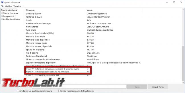 Come scoprire se CPU è dotata SLAT supporto hardware virtualizzazione - abilitare Intel VT-x AMD-V BIOS/UEFI (Hyper-V, VirtualBox, VMware) - zShotVM_1621176571