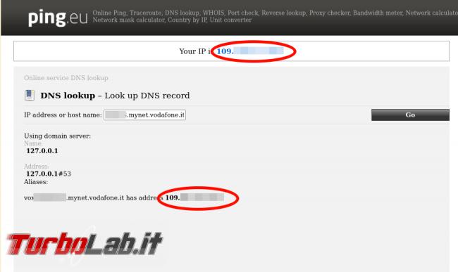 Come sfruttare DDNS interno Vodafone Station