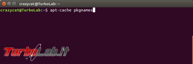 Come si disinstallano programmi Ubuntu