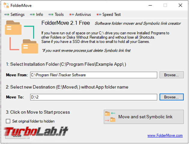 Come spostare cartelle d'installazione giochi programmi senza dover reinstallare nulla grazie link simbolici