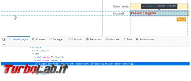 Come svelare password nascoste asterischi Chrome, Mozilla Firefox Opera senza usare programmi esterni