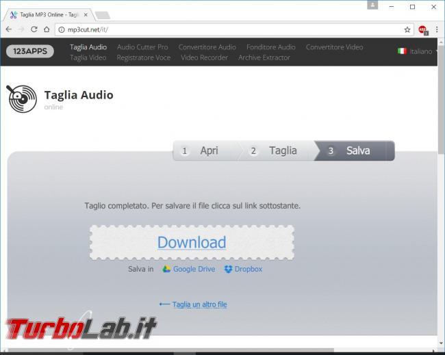 Come tagliare file audio ridurne dimensioni creare suoneria telefonino