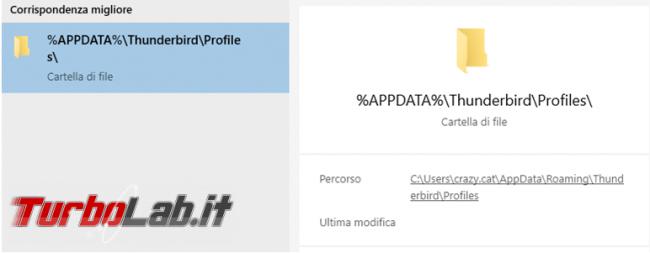 Come trasformare account posta POP3 IMAP senza perdere mail Thunderbird