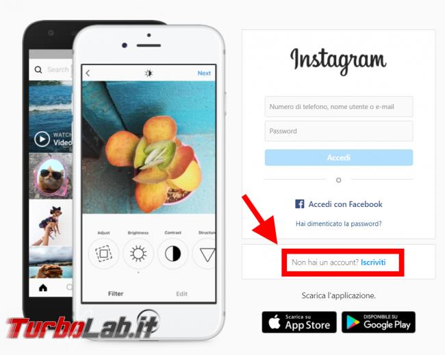 Come usare Instagram PC (guida rapida, pubblicare foto) - FrShot_1587541271