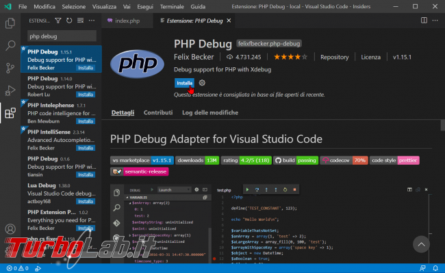 Come usare Xdebug Visual Studio Code: Guida Definitiva debug PHP ( breakpoint ed esecuzione step Windows 10 Linux) - zShotVM_1622708157