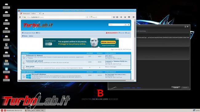 Come utilizzare Bitdefender Rescue CD ripulire pc infetto