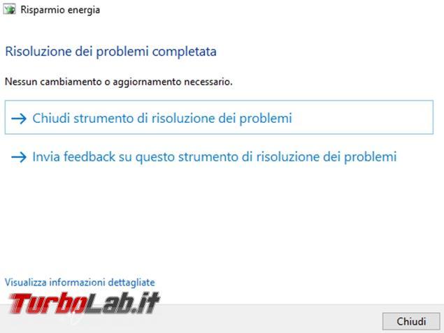 Come utilizzare strumento risoluzione problemi Windows 10