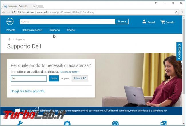 Come utilizzare supporto Dell cercare driver, diagnosticare problemi creare supporto ripristinare computer