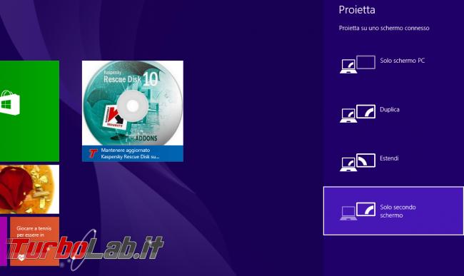 Come utilizzare TV/proiettore/schermo esterno Windows: guida rapida - windows schermo esterno