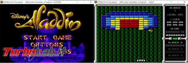 Come utilizzare vecchi giochi programmi DOS Windows