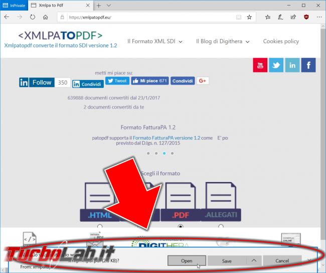 Come vedere fatture elettroniche (aprire file xml / xml.p7m convertire PDF)