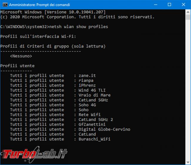 Come vedere password Wi-Fi salvata Windows 10 (recuperare password rete PC) - Mobile_zShot_1589024329