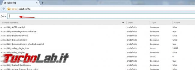 Come velocizzare Firefox migliorare caricamento pagine
