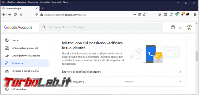 Come verificare accessi account Google gmail