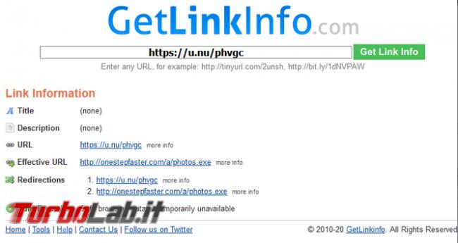 Come verificare cosa si nasconde dietro link breve