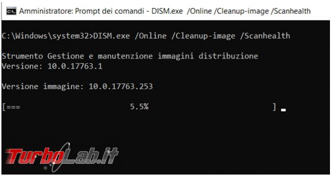 Come verificare riparare file sistema danneggiati comando Dism