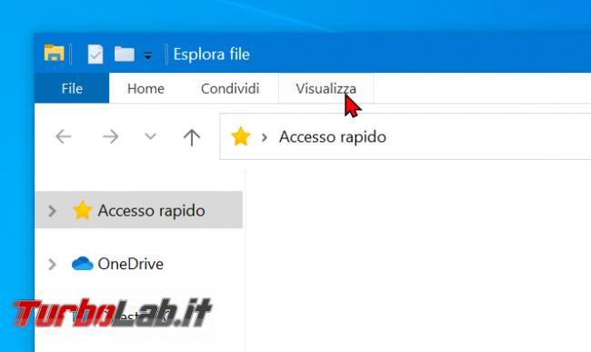 Come visualizzare modificare estensioni file Windows 10