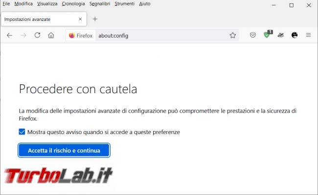 Come visualizzare sempre l'icona download Firefox
