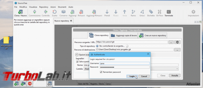 Commit! Pull! Push! - Guida rapida Git professionisti impegnati - git sourcetree clone
