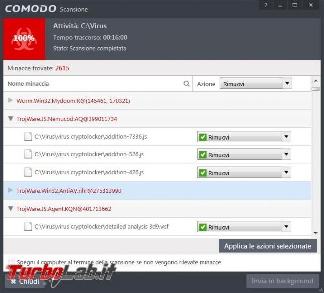 Comodo Internet Security Premium 10 prova TurboLab.it