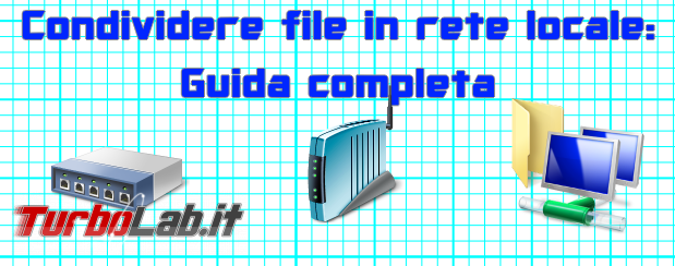 Condividere file cartelle rete locale (LAN Wi-Fi ed Ethernet) - Grande Guida Windows, Ubuntu, Android Mac - condivisione file rete locale lan spotlight