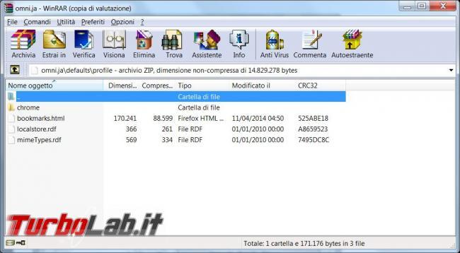 Configurare diversi profili Mozilla Firefox impostazioni comuni tutti utenti