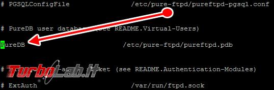 Configurare server FTP Linux CentOS/Ubuntu: Guida rapida Pure-FTPd - pure-ftpd.conf 02