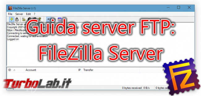Configurare server FTP Windows: Grande Guida FileZilla Server - FileZilla Server spotlight