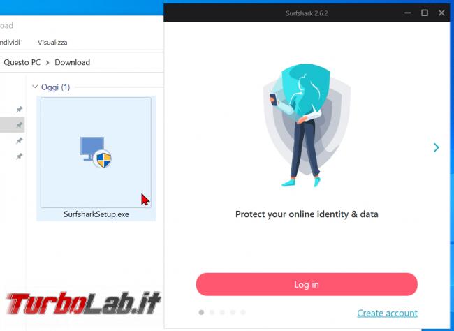 Connessione sicura anonima Surfshark (VPN): recensione, prova opinione