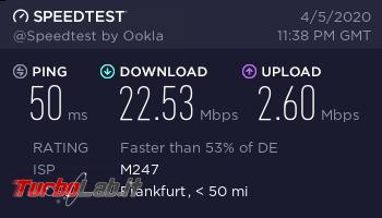 Connessione sicura anonima Surfshark (VPN): recensione, prova opinione - surfshark speedtest