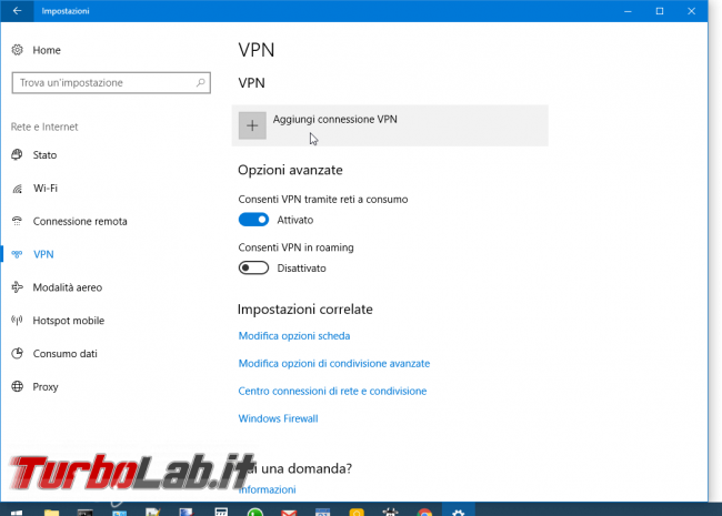 Connessione VPN Windows 10: come si fa? - Mobile_zShot_1503850005
