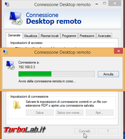 Connettersi Desktop Remoto (Remote Desktop) PC lontano: guida client Windows - remote_desktop_client_12