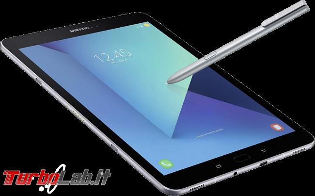 Consiglio acquisto: migliore tablet Android, inizio 2019 (video) - Samsung Galaxy Tab S3 tablet