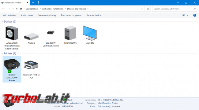 Control Center 4: come creare collegamento diretto desktop (stampante/scanner Brother)