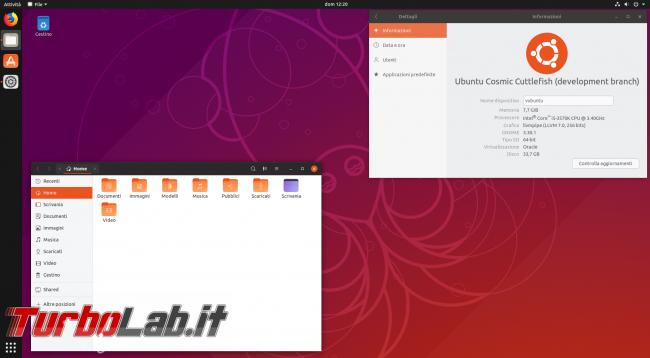 Cosa c'è nuovo Ubuntu 18.10, ora disponibile download