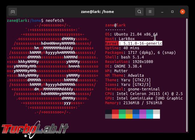 Cosa c'è nuovo Ubuntu 21.04? Guida top 5+ novità (video) - Schermata del 2021-04-22 00-42-26