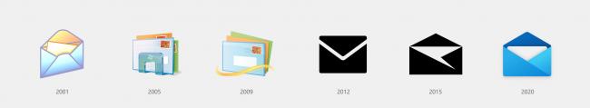Cosa c'è nuovo Windows 10 2004, Aggiornamento Maggio 2020 (20H1)? Tutte novità funzioni upgrade (video) - evoluzione icona windows mail