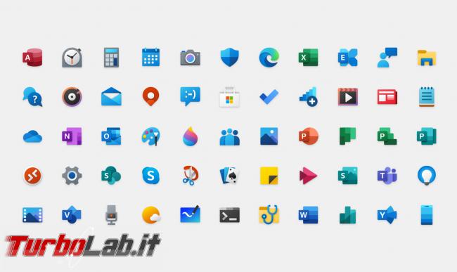 Cosa c'è nuovo Windows 10 2004, Aggiornamento Maggio 2020 (20H1)? Tutte novità funzioni upgrade (video) - icone windows 10 2004