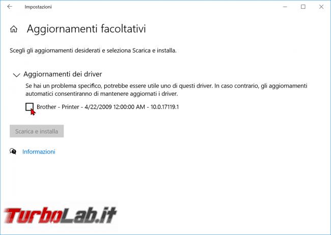 Cosa c'è nuovo Windows 10 2004, Aggiornamento Maggio 2020 (20H1)? Tutte novità funzioni upgrade (video) - windows 10 aggiornamenti driver facoltativi