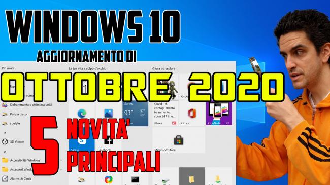 Cosa c'è nuovo Windows 10 20H2, Aggiornamento ottobre 2020: Tutte novità funzioni upgrade (video) - novità windows 10 20H2 spotlight