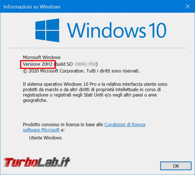 Cosa c'è nuovo Windows 10 20H2, Aggiornamento ottobre 2020: Tutte novità funzioni upgrade (video) - zShotVM_1598177310