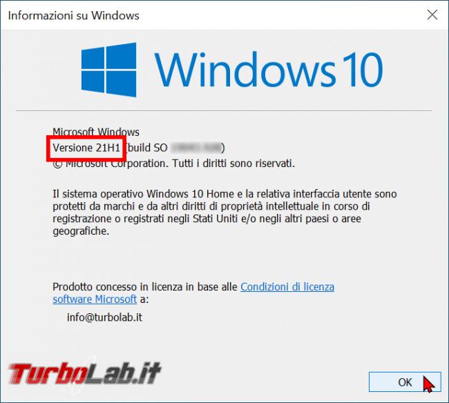 Cosa c'è nuovo Windows 10 21H1: guida novità Aggiornamento Maggio 2021 (video) - zShotVM_1619338625
