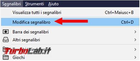 Cosa fare quando Mozilla Firefox non permette salvare preferiti dove volete voi